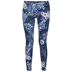 adidas Originals, Colanți albaștri adidas Originals cu imprimeu floral