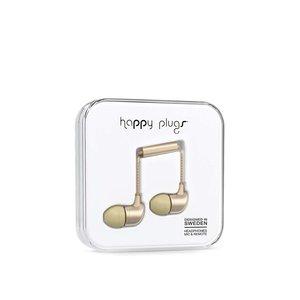 Căști in ear auriu mat Happy Plugs la pretul de 159.99