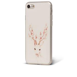Husă albă Epico Deer pentru iPhone 7