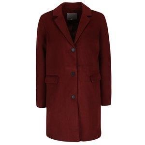 Vero Moda, Palton roșu cărămiziu cu buzunare Vero Moda Lien