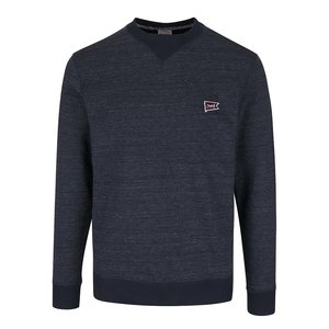 Jack & Jones, Pulover bleumarin Jack & Jones Kingpin cu model discret