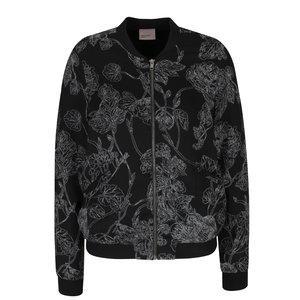 Vero Moda, Jachetă bomber neagră cu model floral Vero Moda Electra
