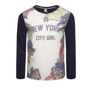 Bluză crem & albastru North Pole Kids pentru fete la pretul de 71.99