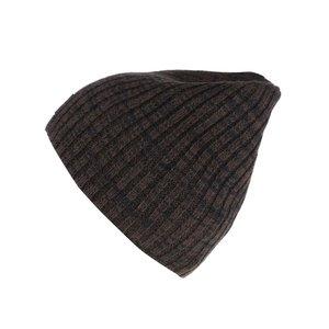 Căciulă maro cu negru Blend cu model striat la pretul de 59.99