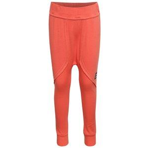 Pantaloni sport unisex portocalii 3FnkyKids din bumbac la pretul de 79.99