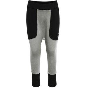 Pantaloni gri melanj unisex 3FnkyKids cu detalii negre la pretul de 91.99