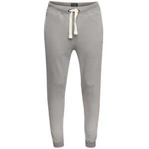 Pantaloni sport gri melanj cu buzunare Blend