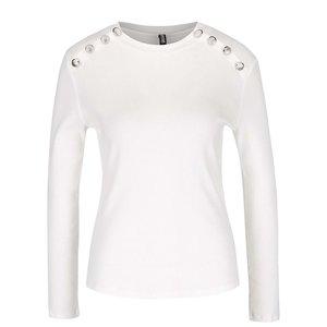 Bluză crem Haily´s Rina cu nasturi argintii decorativi la pretul de 53.99