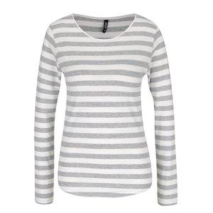 Bluză gri cu crem Haily´s Tina în dungi la pretul de 42.99