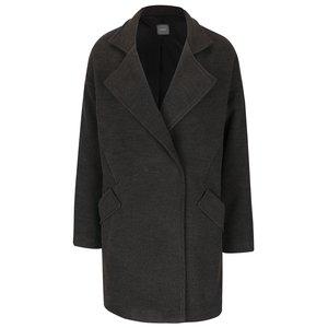 Palton gri ZOOT cu guler cu revere și buzunare cu clapă la pretul de 269.99