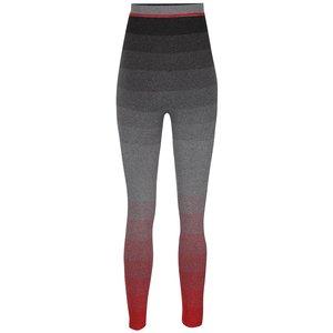 Colanți roșu & gri Mama.licious Lauren cu talie elastică înaltă și model în dungi la pretul de 139.99