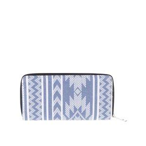 Portofel maro textil cu imprimeu Haily´s Ethno la pretul de 31.99