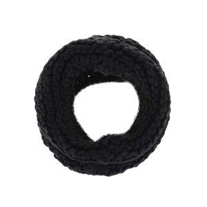 Fular circular negru VILA Craft la pretul de 114.99