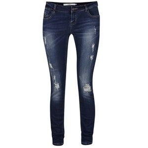 Jeanși albaștri cu aspect uzat Vero Moda Five