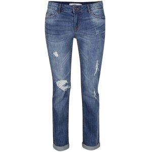 Jeanși albaștri cu aspect uzat Vero Moda Ten la pretul de 229.99