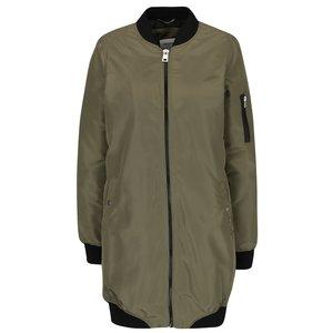 Jachetă bomber lungă kaki Dicte Vero Moda la pretul de 229.99