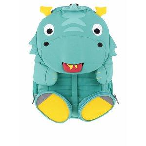 Rucsac turcoaz Affenzahn în formă de hipopotam
