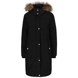 Jachetă Parka neagră cu blană sintetică Noisy May la pretul de 269.99