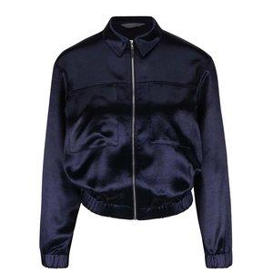 Jachetă albastră Dorothy Perkins cu aspect satinat la pretul de 174.99