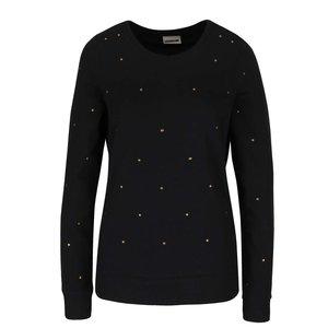 Bluză neagră cu detalii metalice Noisy May