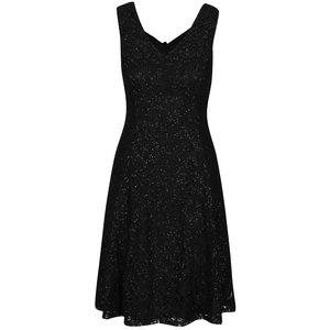 Rochie neagră din dantelă Mela London la pretul de 219.99