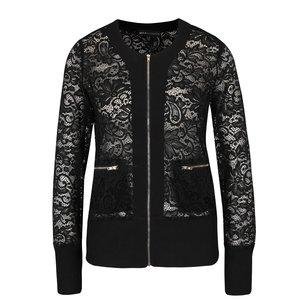 Jachetă neagră din dantelă Mela London la pretul de 174.99