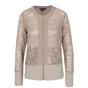Jachetă bej din dantelă Mela London la pretul de 174.99