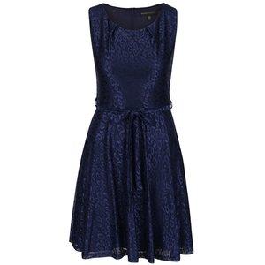 Rochie albastră cu aspect lucios Mela London la pretul de 154.99