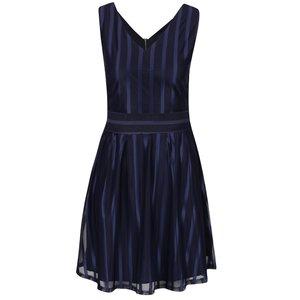 Rochie albastră în dungi Mela London
