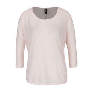 Bluză roz pal Haily´s Laureen cu mâneci 3/4 la pretul de 46.99