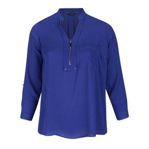 Bluza Cu Fermoar Dorothy Perkins Curve Albastra
