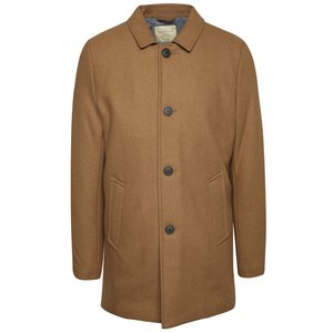 Palton maro camel Selected Homme New Mash