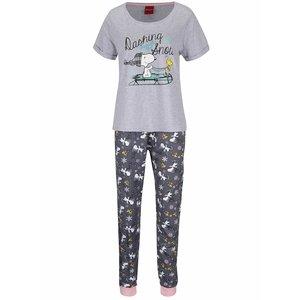 Pijamale gri Dorothy Perkins Snoopy la pretul de 129.99