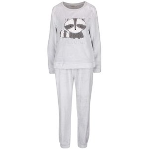 Pijamale gri Dorothy Perkins cu print