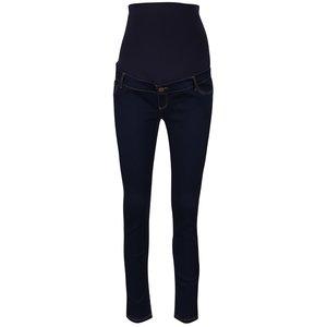 Blugi albastru închis Dorothy Perkins super skinny cu extensie elastică