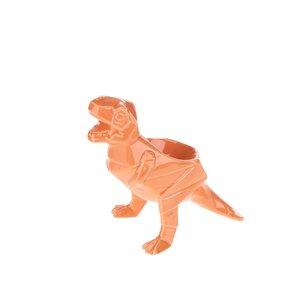 Suport portocaliu de ouă Disaster Dinosaurus din porțelan