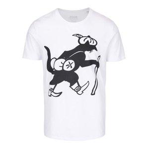 Tricou alb cu imprimeu ZOOT Original la pretul de 64.99