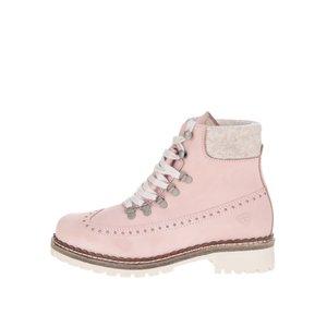Ghete roz prăfuit Tamaris cu perforații decorative la pretul de 449.99