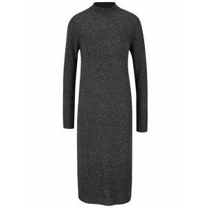 Rochie lungă tricotată gri VILA Gujo