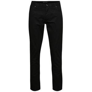Pantaloni gri închis Pietro Filipi cu model discret pentru bărbați la pretul de 479.99