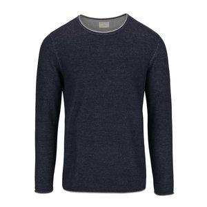 Bluză bleumarin Selected Homme Klop din bumbac