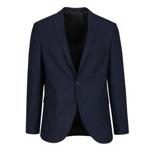 Sacou bleumarin Selected Homme Done Taxluke cu model discret