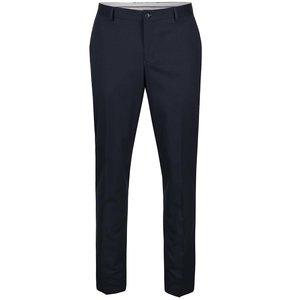 Pantaloni bleumarin Selected Homme Skinny Mathsaul cu model discret la pretul de 314.99