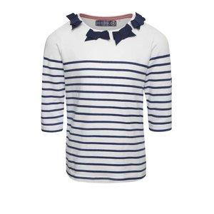 Bluză crem în dungi 5.10.15 cu fundițe la pretul de 47.99