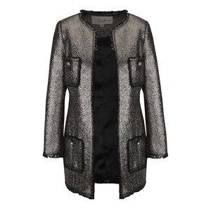 Jachetă argintie cu buzunare Darling Dulcie la pretul de 549.99