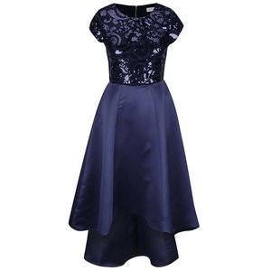 Rochie albastru închis cu paiete Closet