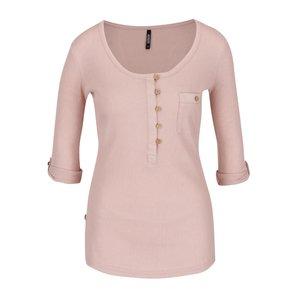 Bluză roz pal Haily´s Marry cu mâneci 3/4 la pretul de 59.99