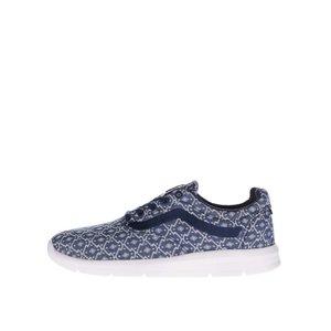 Pantofi sport albastru cu crem Vans Iso cu imprimeu