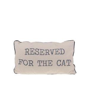 Pernă bej Sass & Belle Reserved for the cat