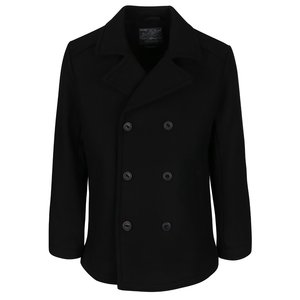 Palton scurt negru Jack & Jones Pending